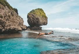 Magpupungko Rock Pools On Siargao Island Journey Era
