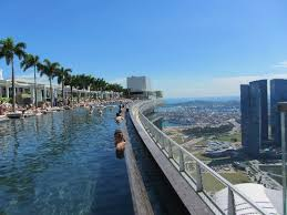 infinity pool singapore. Marina Bay Sands: Infinity Pool Singapore W
