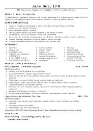 Lpn Sample Resume Resume Samples Sample Resumes New Graduates