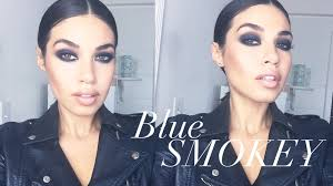 kim kardashian makeup tutorial blue smokey eye makeup eman you