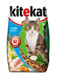 <b>Kitekat Улов рыбака</b> сухой корм для кошек в интернет ...