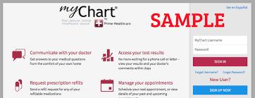 Riverview Health My Chart Prime Healthcare Mychart