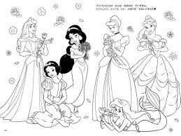 Character Coloring Book With Pages For Kids Also Disney Image