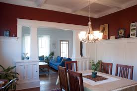 Dining Room Wainscoting Ideas Exquisite Home Open Dining Room Design With Wooden Furniture Plus
