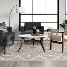 nuloom moroccan blythe area rug 8 x 10 grey diamond trellis dining room inspirations of project