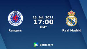 Rangers vs Real Madrid live score, H2H and lineups