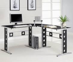 corner desk home. Metal Modern Corner Desk Home