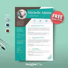 001 Creative Resume Template Free Ideas Kitalpha Cv 06 Magnificent