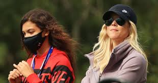 Woods has spoken about all the time he spends at soccer practices and games and has shared photos of sam attending professional soccer matches and meeting stars of the u.s. Elin Nordegren Tiger Woods Ex Wife Recently Spotted Watching Son Charlie At Pnc Championship