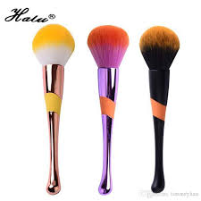 halu single makeup foundation loose power brush rose gold super soft beauty cosmetic cream contour blush brush good makeup brushes liquid foundation brush