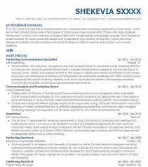 marketing communications specialist resume - Business Development  Specialist Resume