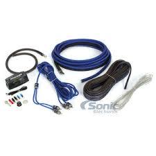channel amp wiring kit image wiring diagram kicker ck4 ck series 4 gauge ofc 2 channel amplifier wiring kit on 4 channel amp