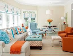 Orange Couch Living Room Family Rooms Define Design Interior Designers