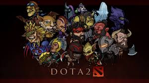dota 2 heroes with names wallpaper unique make the game expert and