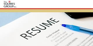 What You Need To Take Off Your Resume Today The Squires Group