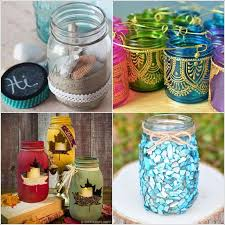 How To Decorate A Jar 60 Awesome DIY Mason Jar Decor Ideas 14