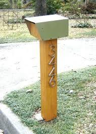cool mailbox post ideas. Modren Post Unique Mailbox Ideas Post Modern With  Cool   For Cool Mailbox Post Ideas