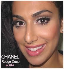 chanel rouge coco in flirt huda beauty