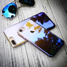 iphone 10 plus. aliexpress.com : buy floveme for iphone x 10 2017 blue ray case 8 7 plus phone cases luxury gradient aurora cover apple coque from iphone