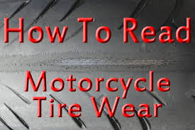 Tech Tips How To Read Motorcycle Tire Wear Chapmoto Com