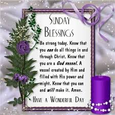 Blessed Sunday Quotes Impressive Sunday Blessings Have A Wonderful Day Sunday Sunday Quotes Blessed
