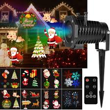 Whole House Christmas Light Projector Led Projector Lights With 12 Switchable Patterns For
