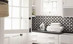 black and white tile kitchen backsplash custom cut black white backsplash tile black and white pattern
