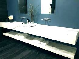 lovely white cultured marble integral bathroom vanity top sink medium size of sinks pros and cons