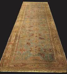 antique oushak runner rug 4 x 16 3