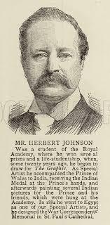 Mr Herbert Johnson stock image | Look and Learn