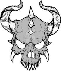 Demon Horn Designs Collection Of Free Drawing Horns Devil Horn Download On