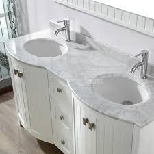 bathroom double sink cabinets. Studio Bathe Bridgeport 60 Inch White Double Bathroom Vanity Sink Cabinets