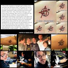 Avenger Tattoo Tumblr Posts Tumbralcom