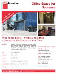 office space for lease flyer 3 sheppard may toronto commercial real estate and office psace for