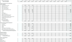 Excel Small Business Tax Template