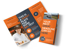 Moving Flyer Template Moving Company Tri Fold Brochure Template