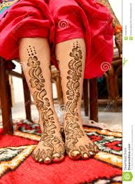 Indian Wedding Henna Designs Bridal Mehndi In Wedding Ceremony Stock Photo Image Of