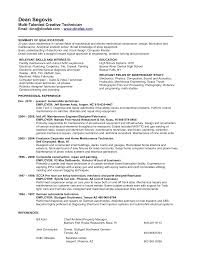 Brilliant Ideas Of Electronic Mechanic Resume Sample Easy Car