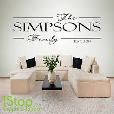 image is loading family personalised wall sticker quote bedroom lounge wall  on personalised wall art stickers quotes with family personalised wall sticker quote bedroom lounge wall art