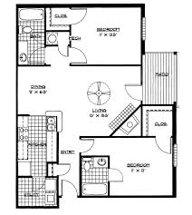Free House Plans And Designs Pdf Small House Floor Plans 2 Bedrooms Bedroom Floor Plan