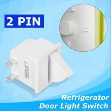 Refrigerator Door Light Switch Replacement Refrigerator Door Lamp Light Switch Replacement Fridge Part