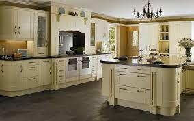 Kitchen Theme For Apartments Apartments Green Theme Kitchen With Black Kitchen Countertops And