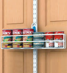 over door can holder the basket organizer closetmaid
