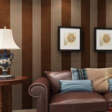 horizontal striped wallpaper b q living
