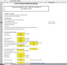 cash flow model excel discounted cash flow dcf models in excel downloads eloquens