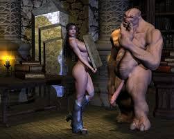 Demon monster hentai sex