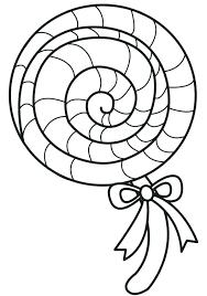 Lollipop Coloring Pages