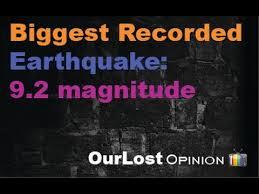 「magnitude of 9.2」の画像検索結果
