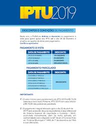 Descontos e condições de pagamento - Portal da Prefeitura de Uberlândia