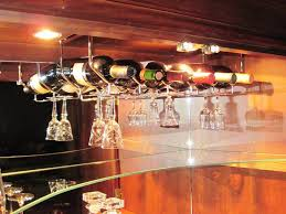 image of build wine glass rack under cabinet